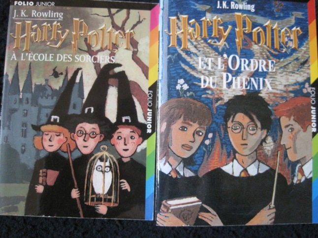 French editions of Harry potter