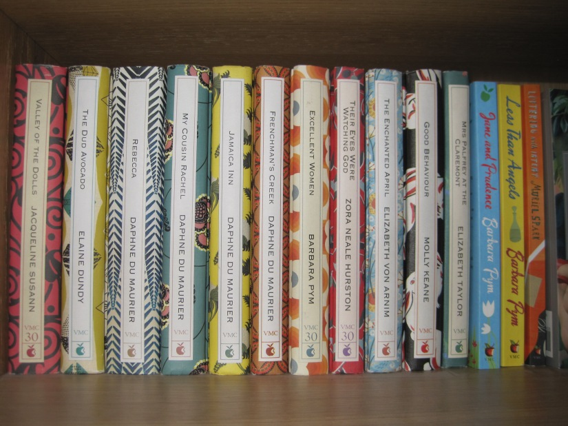 A shelf of books