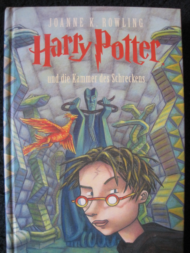 German hardback edition of Chamber of Secrets