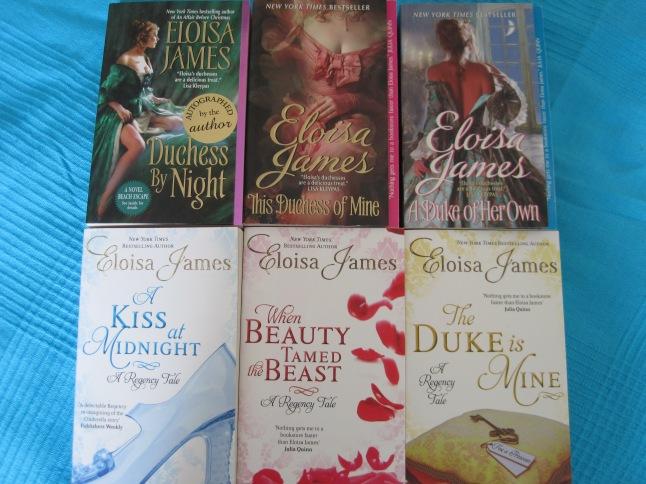 Eloisa James books