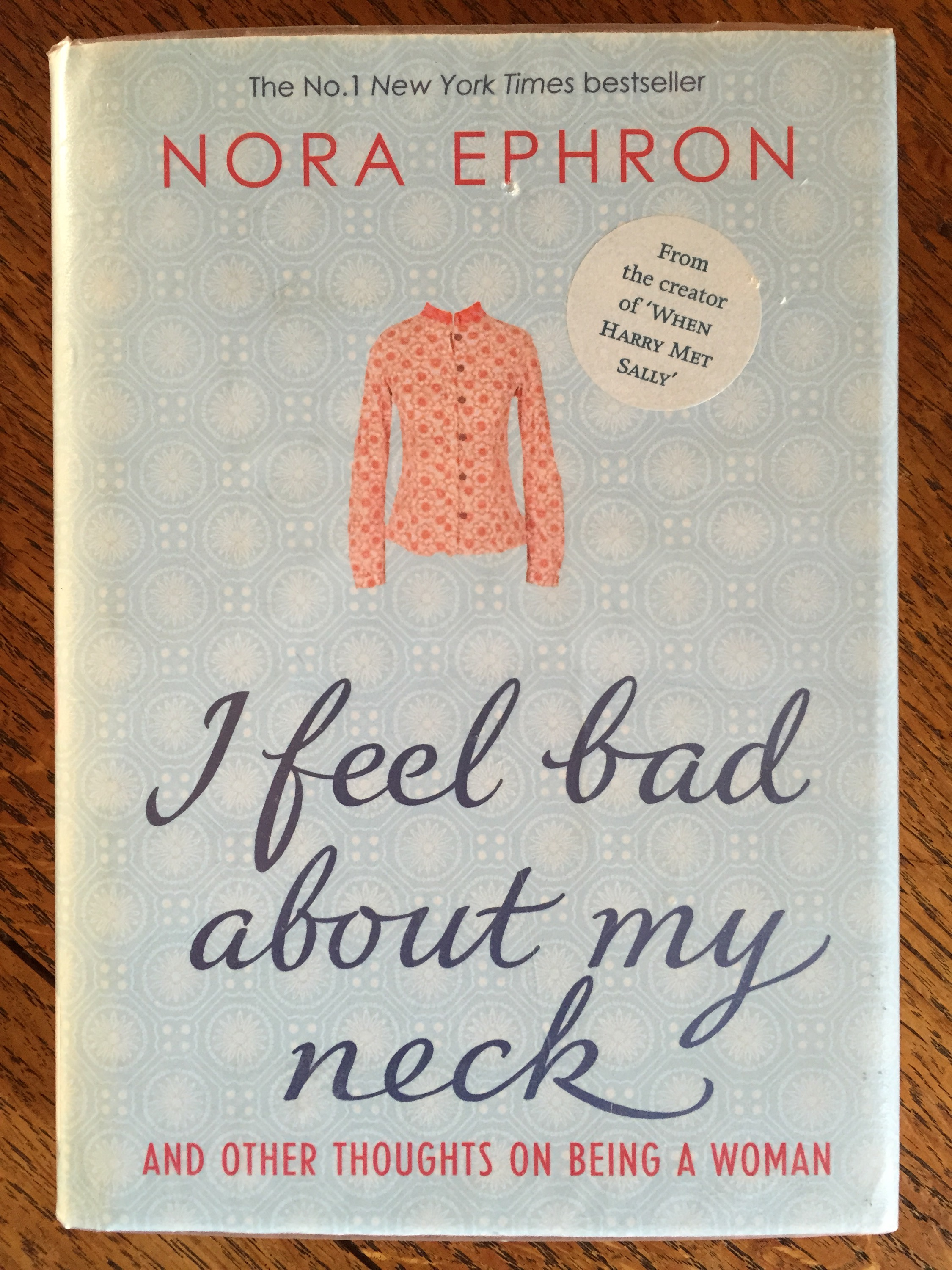nora ephron breasts essay Nora ephron ephron, nora (vol 31) - essay  ephron revealed everything from her obsession with having small breasts to the  the script by nora ephron.