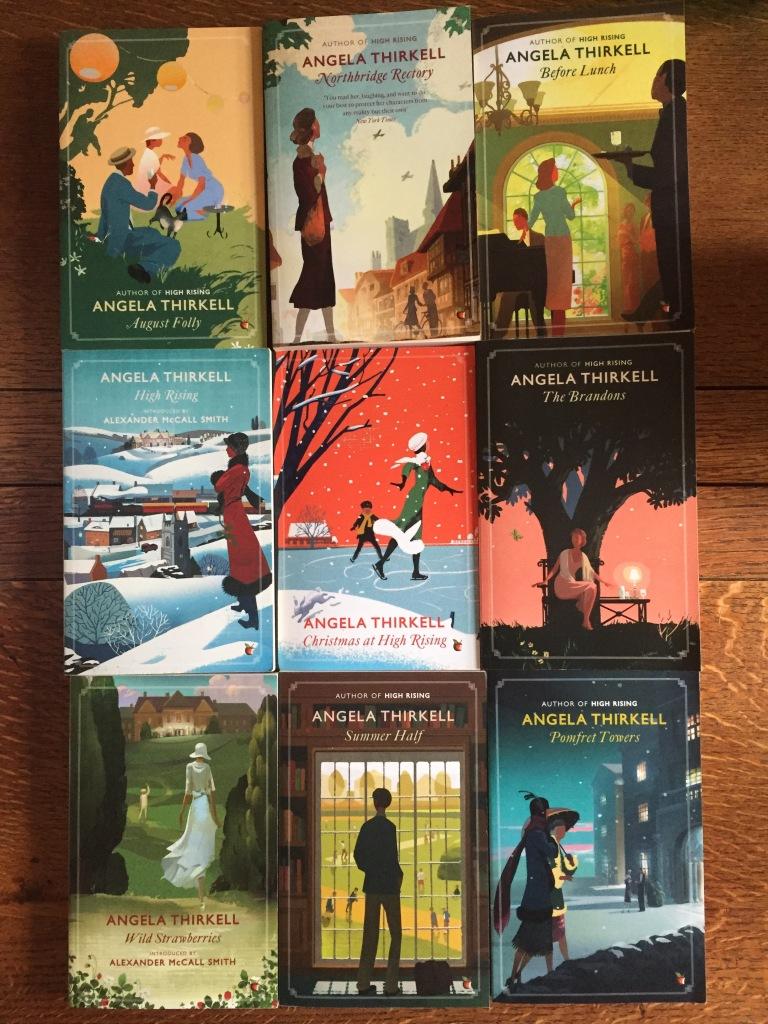 Angela Thirkell books from Virago
