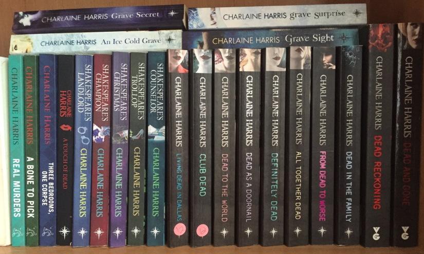 Charlaine Harris books