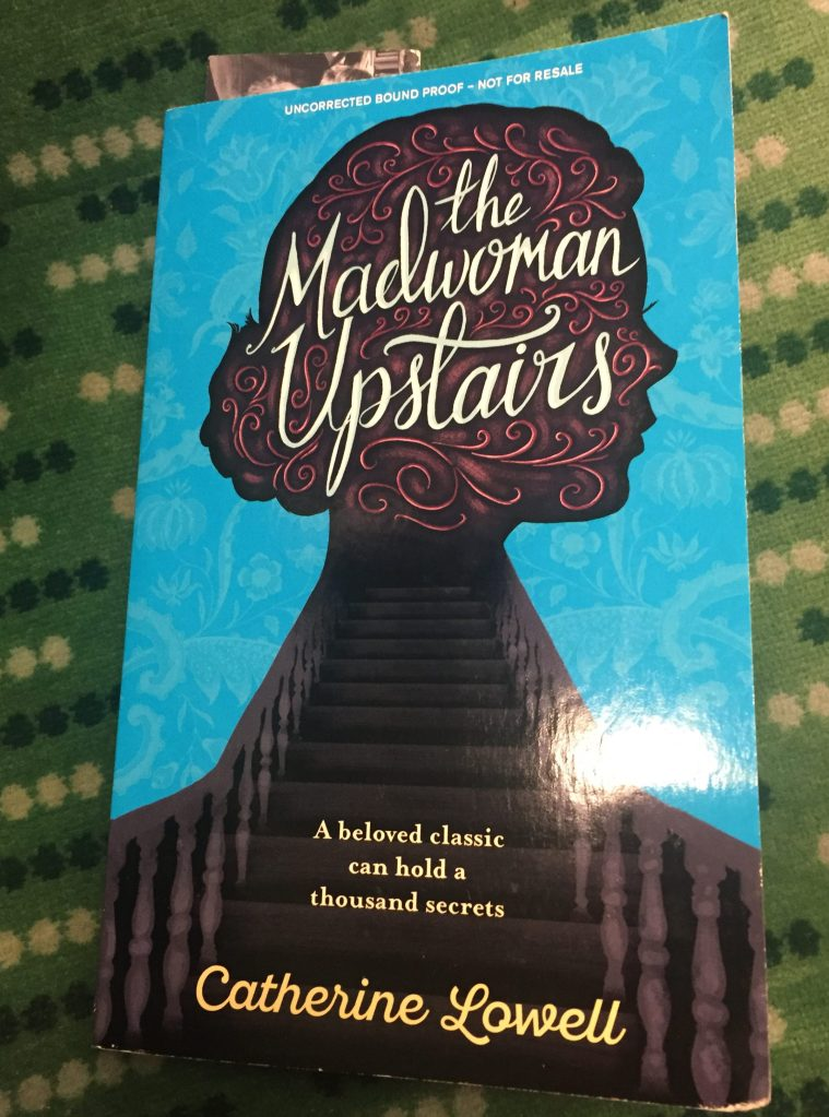 My copy of The Madwoman Upstairs
