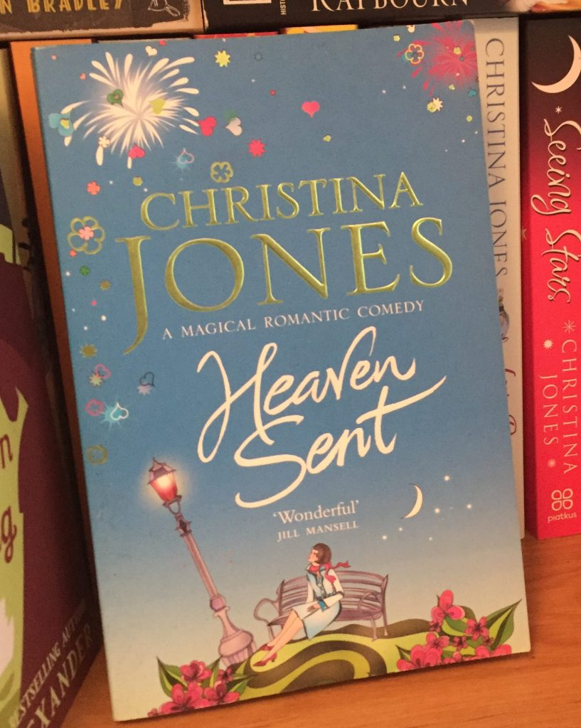 Paperback copy of Heaven Sent by Christina Jones