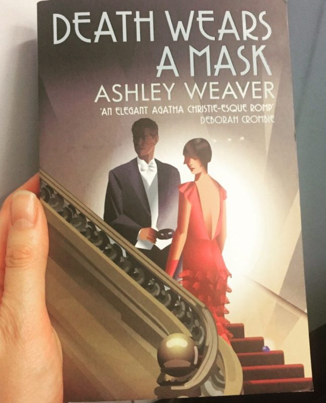 Death Wears a Mask by Ashley Weaver