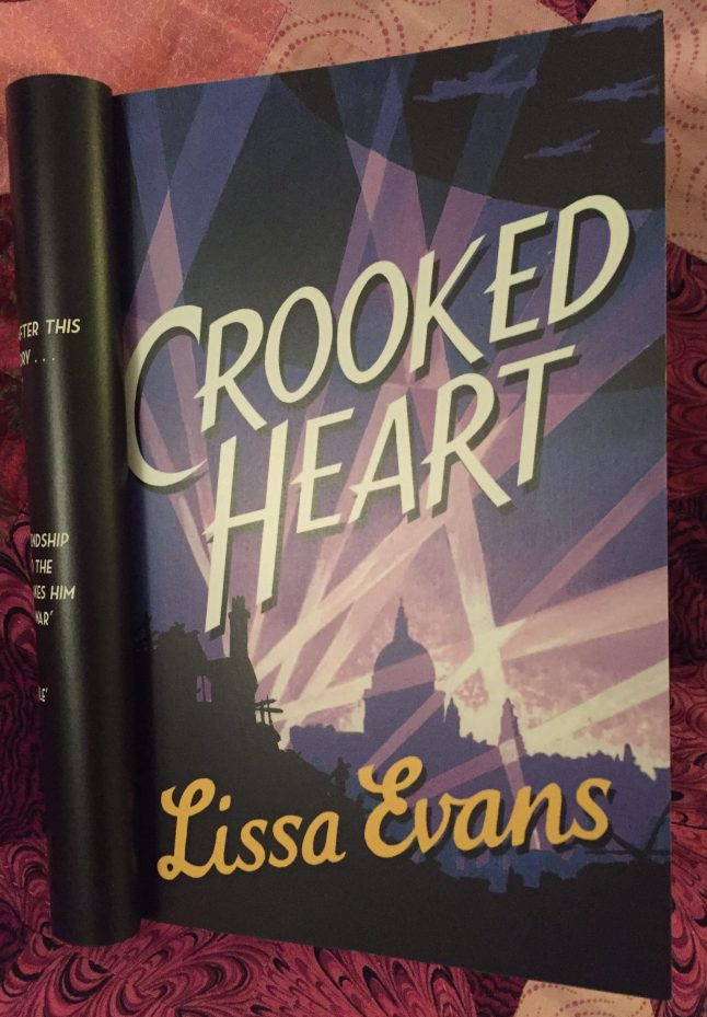 Copy of Crooked Heart by Lissa Evans.