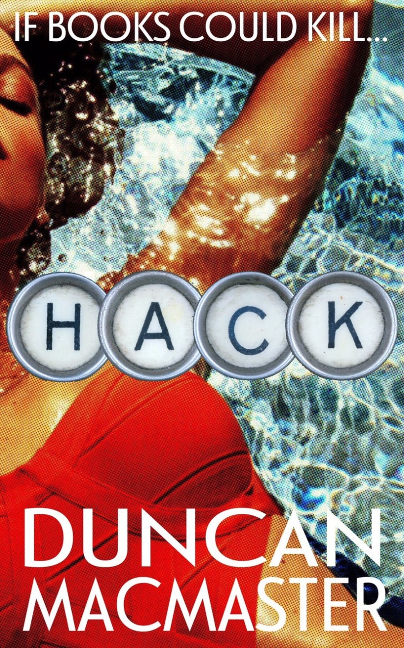Swimming pools, typewriter keys, glamour - I love this cover.