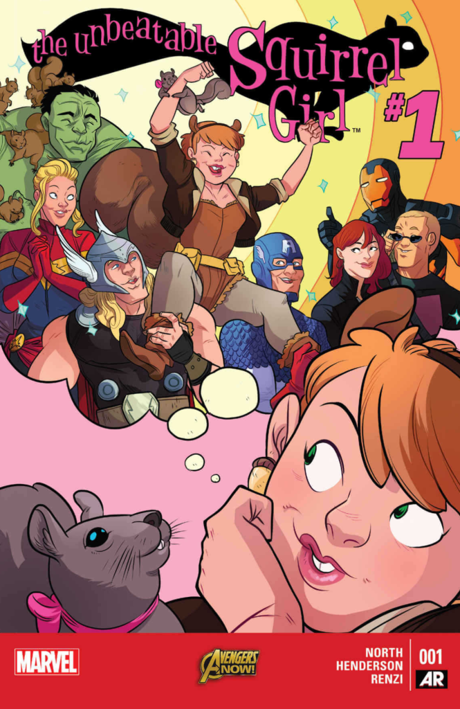The digital cover of Unbeatable Squirrel Girl 1