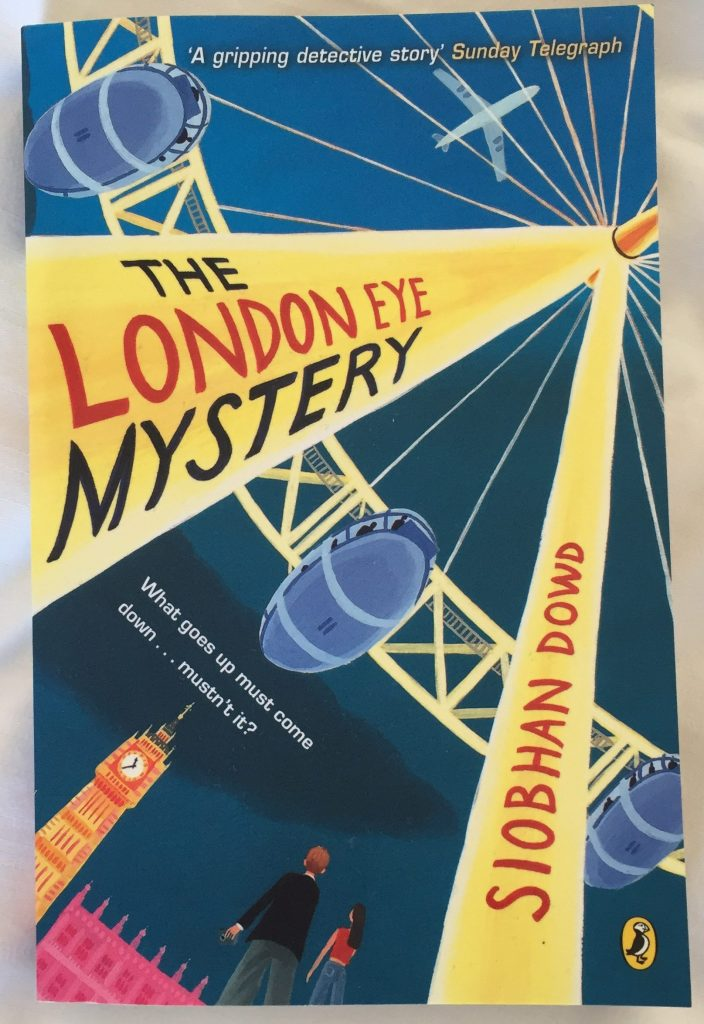 A copy of The London Eye Mystery