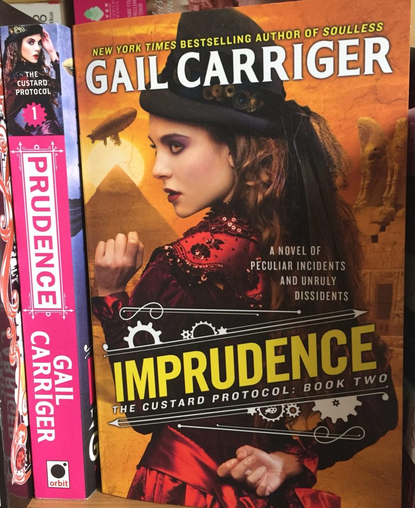 The paperback of Imprudence on a shelf next to Prudence