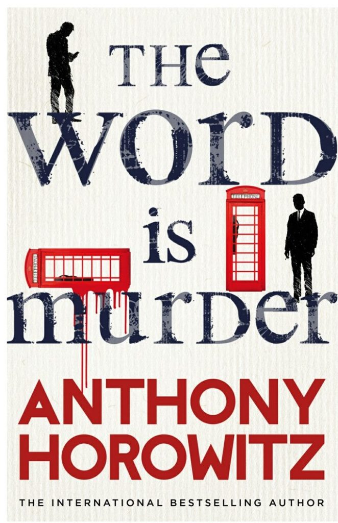 The cover of the word is murder