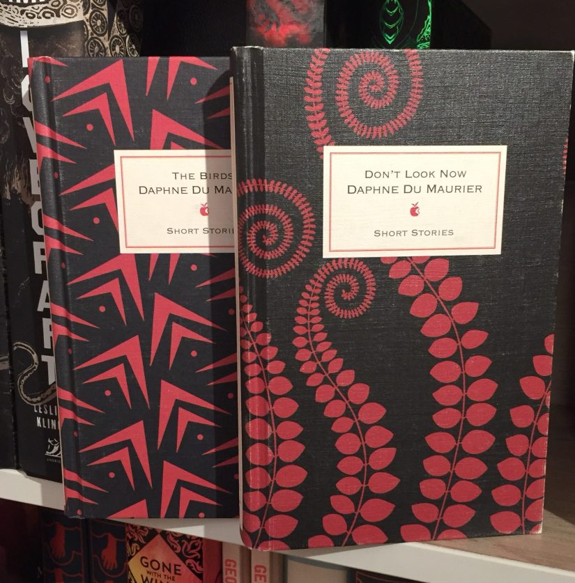 Virago Designer Hardback editions of Daphne Du Maurier short stories.