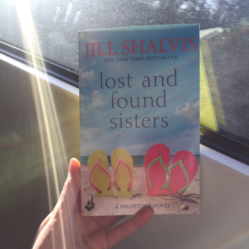 Paperback copy of Lost and Found Sisters