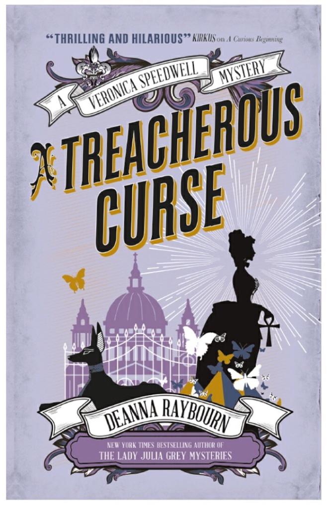 Cover of A Treacherous Curse by Deanna Raybourn