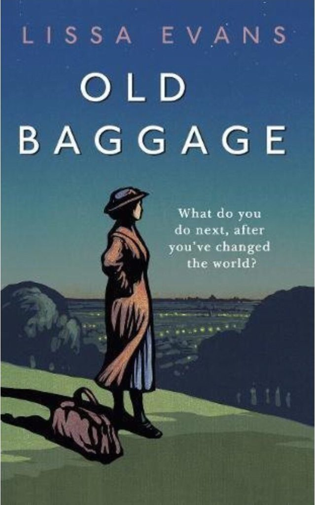 The cover of Old Baggage by Lissa Evans