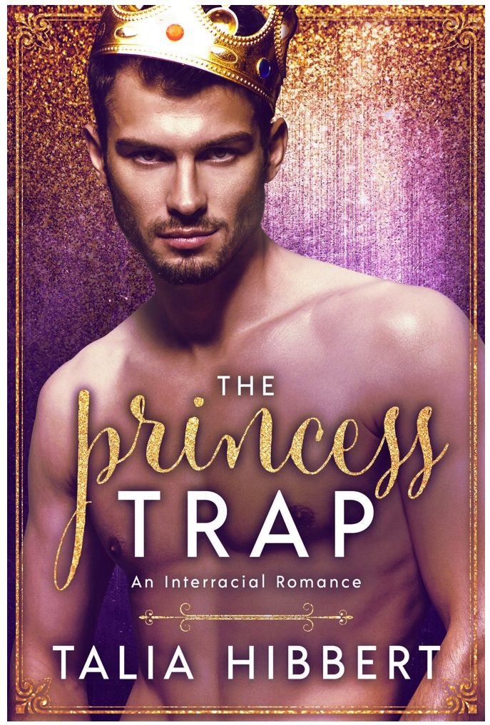 Cover of The Princess Trap by Talia Hibbert