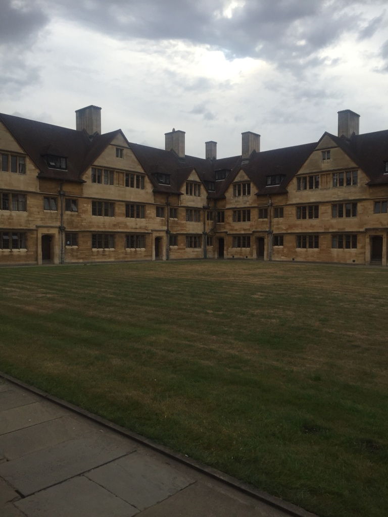 Wills Hall quadrangle