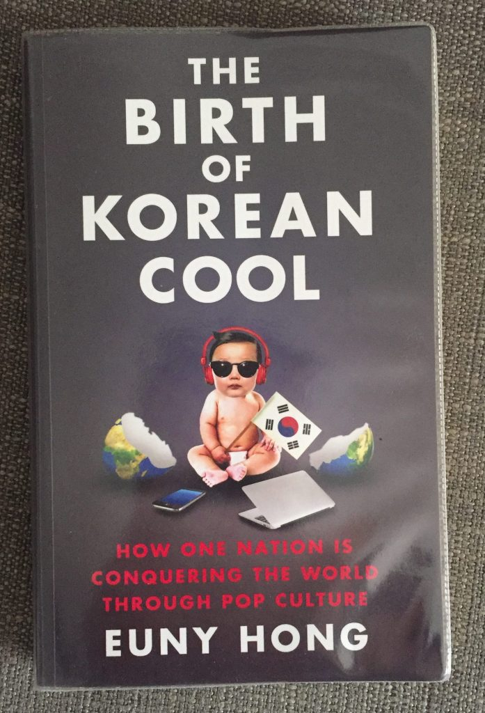 Paperback copy of the Birth of Korean Cool