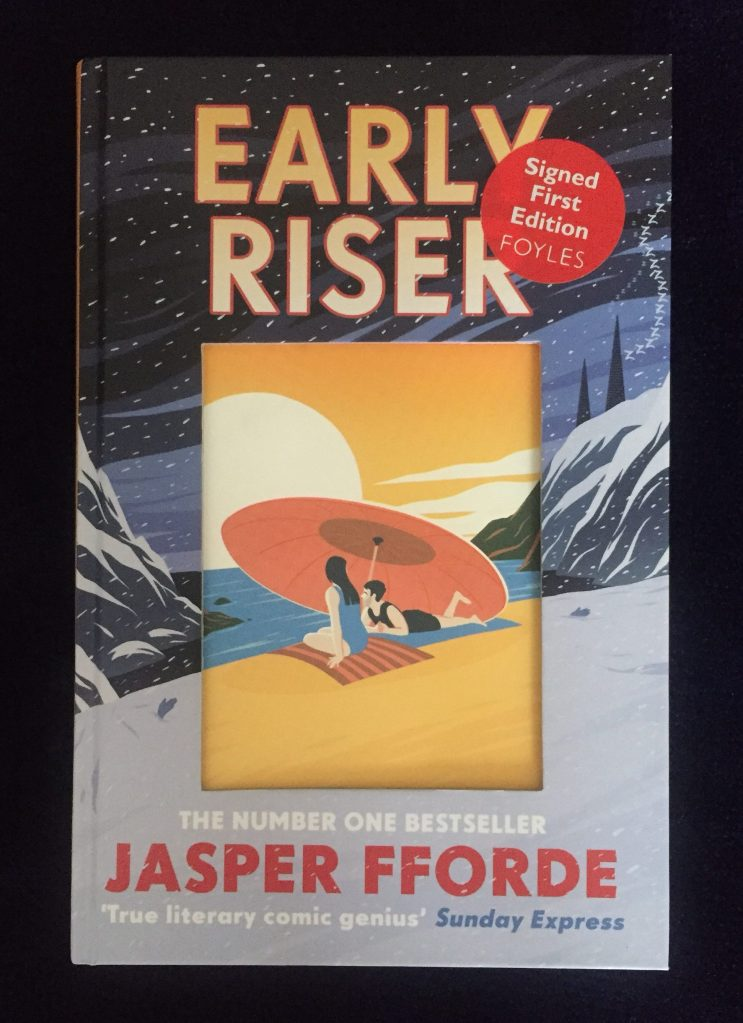Front cover of Hardcover UK edition of Early Riser