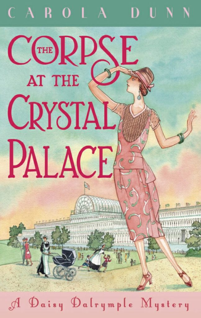 Cover of the Corpse at the Crystal Palace
