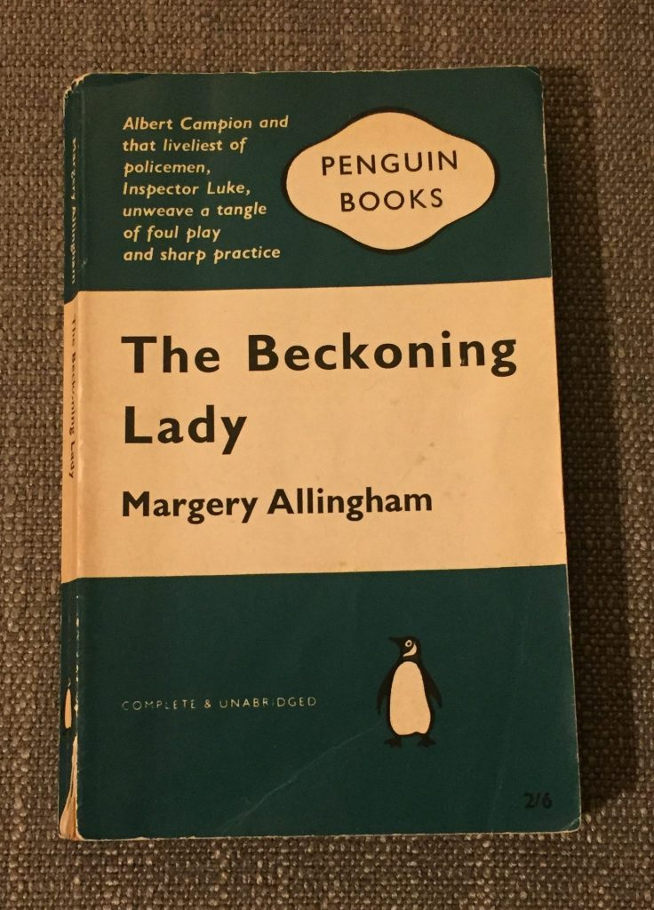 Old Penguin copy of The Beckoning Lady