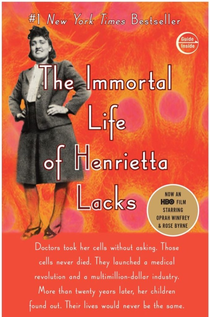 Cover of The Immortal Life of Henrietta Lacks