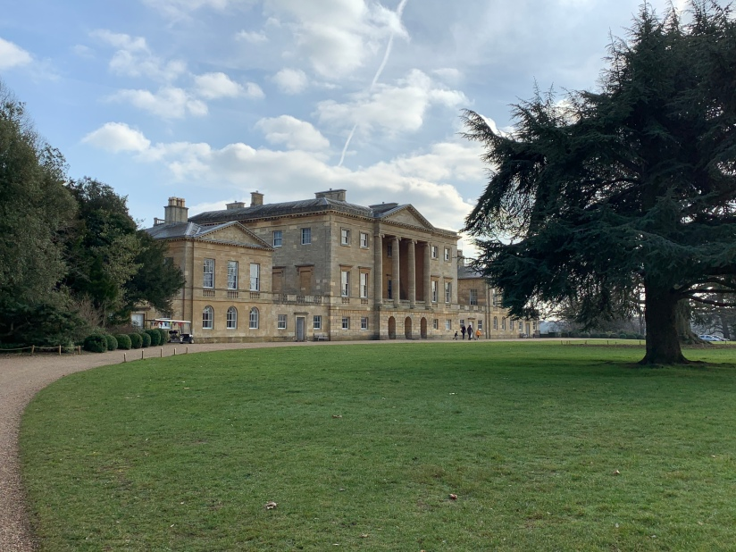 Stately home in the Palladian style, built 1790