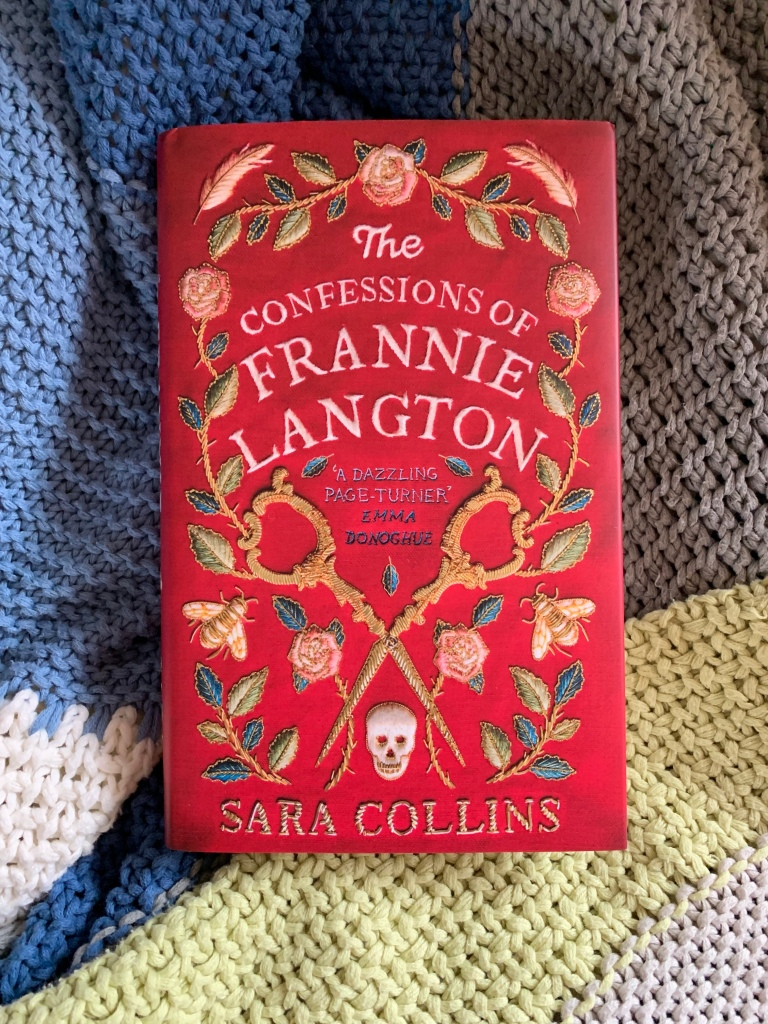Hardback of The Confessions of Frannie Langton