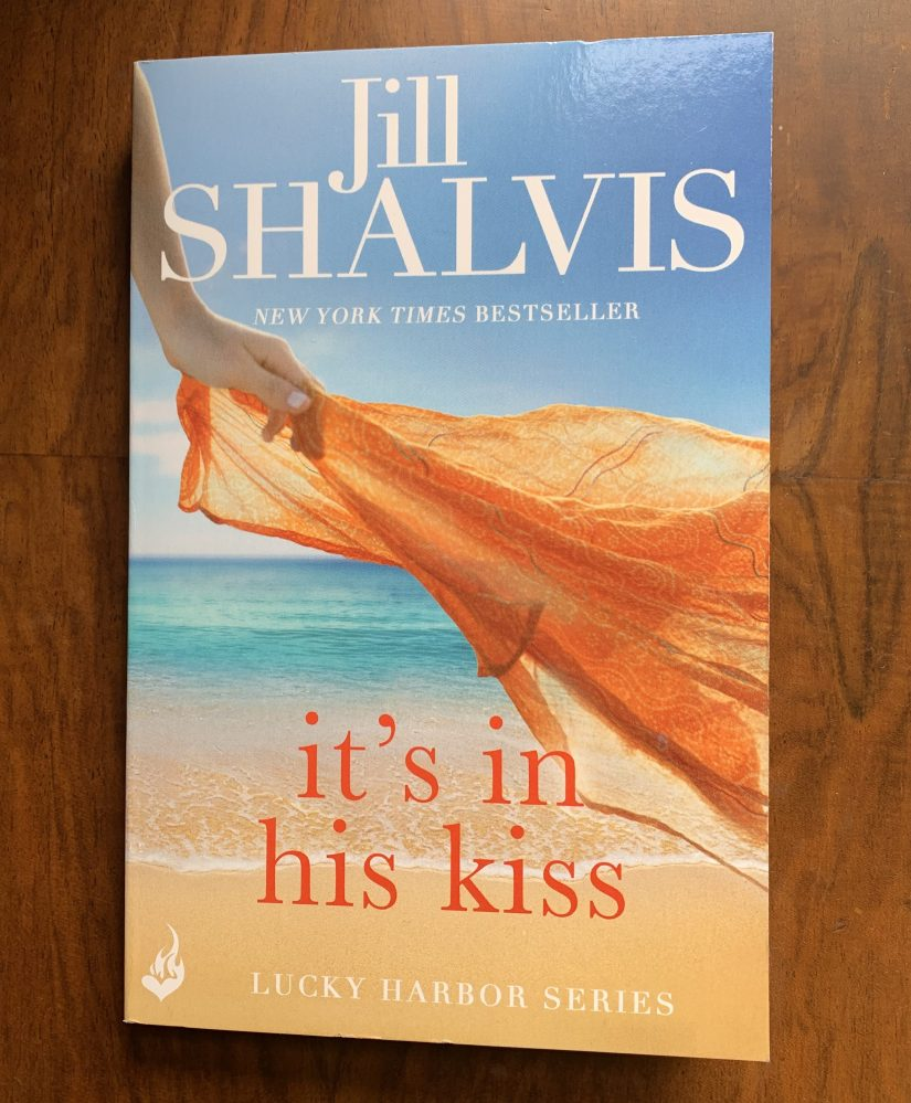 Paperback copy of Its In His Kiss