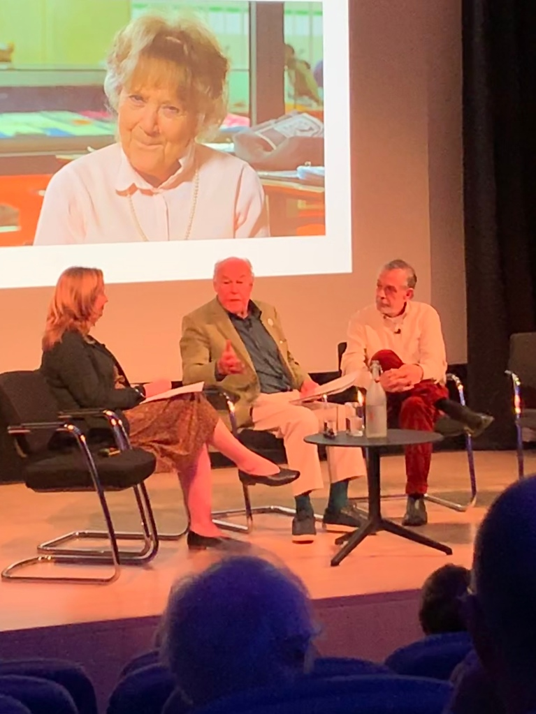 Emma Parker, Timothy West and Hayward Morse