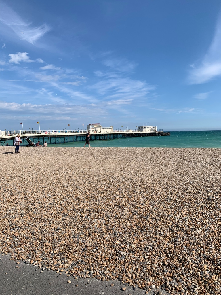 Worthing Pier and the beach