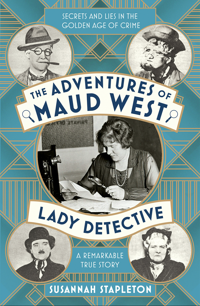 Cover of The Adventures of Maud West
