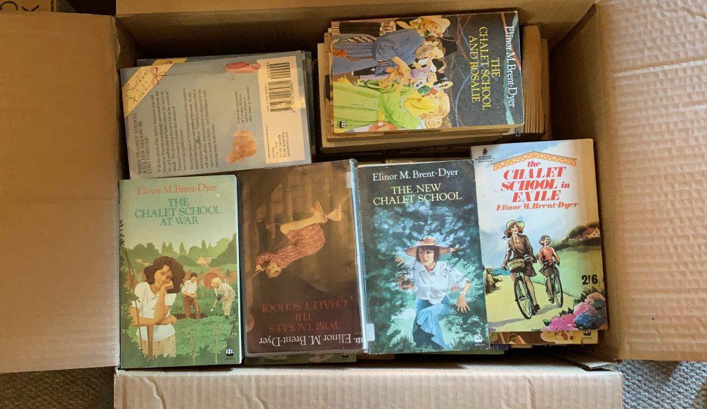 paper back Chalet School books