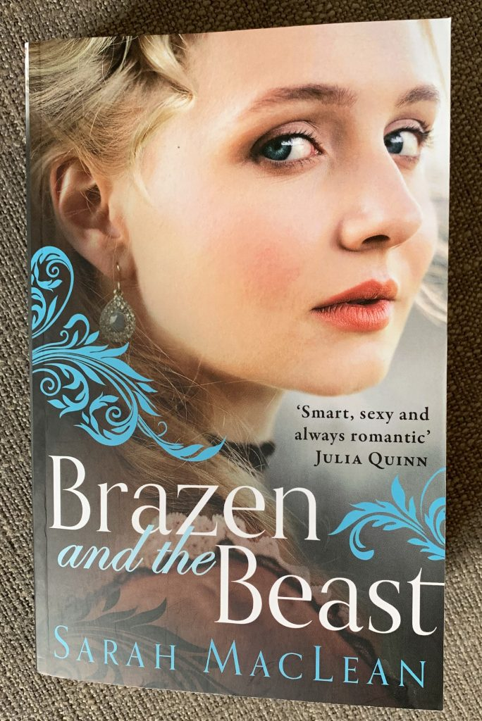 Uk edition of Brazen and the Beast