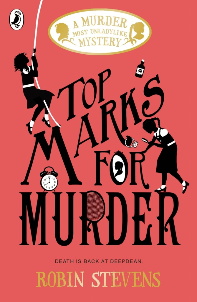 Cover of Top Marks for Murder