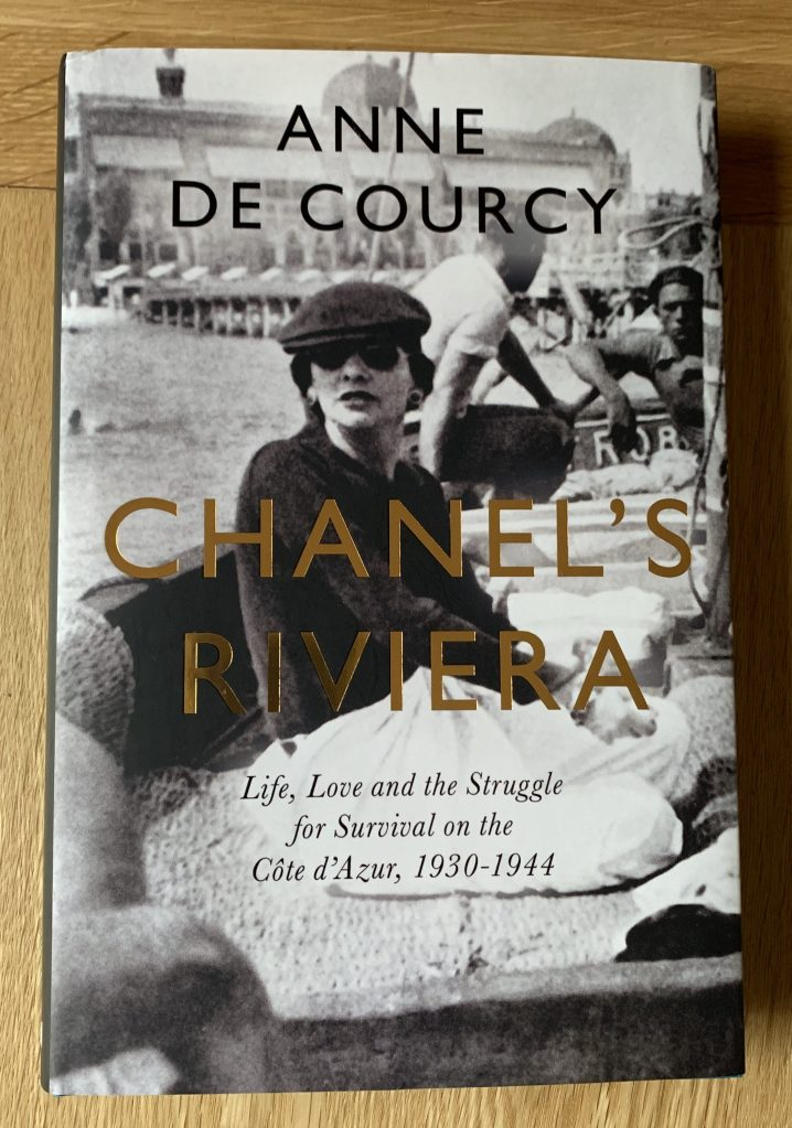 hardback copy of Chanels Riviera