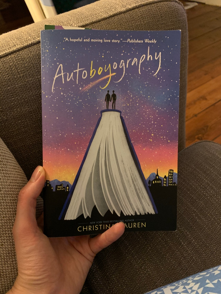 Paperback copy of Autoboyography