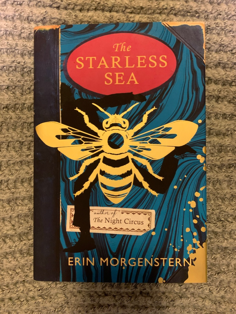 Hardback edition of the Starless Sea