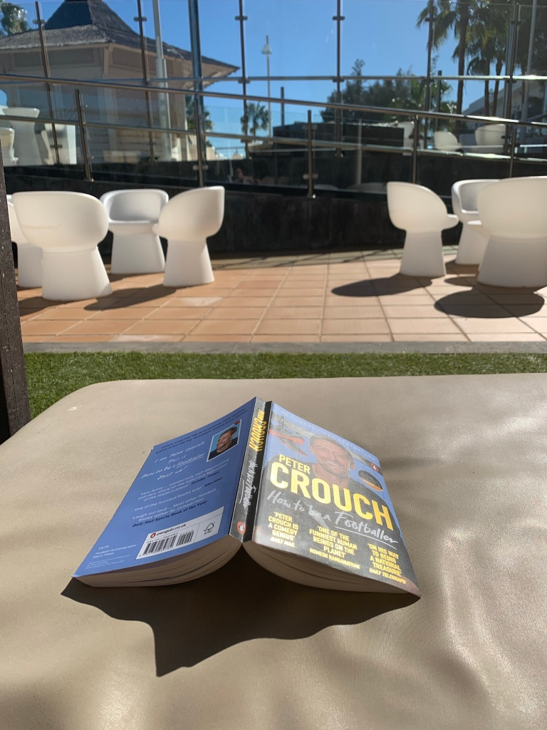 How to be a Footballer on a sun lounger