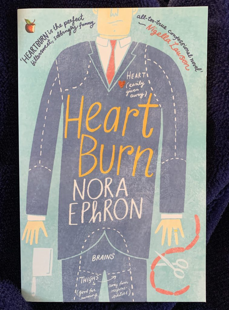 paperback copy of Heartburn by Nora Ephron