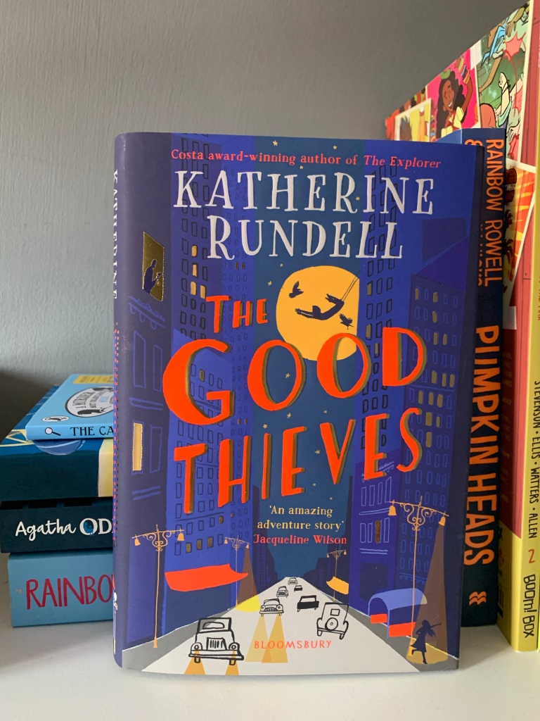 Hardback copy of The Good Thieves