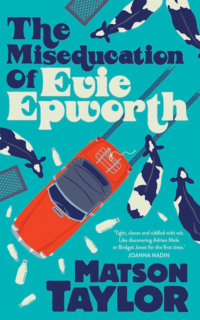 Cover of the Miseducation of Evie Epworth