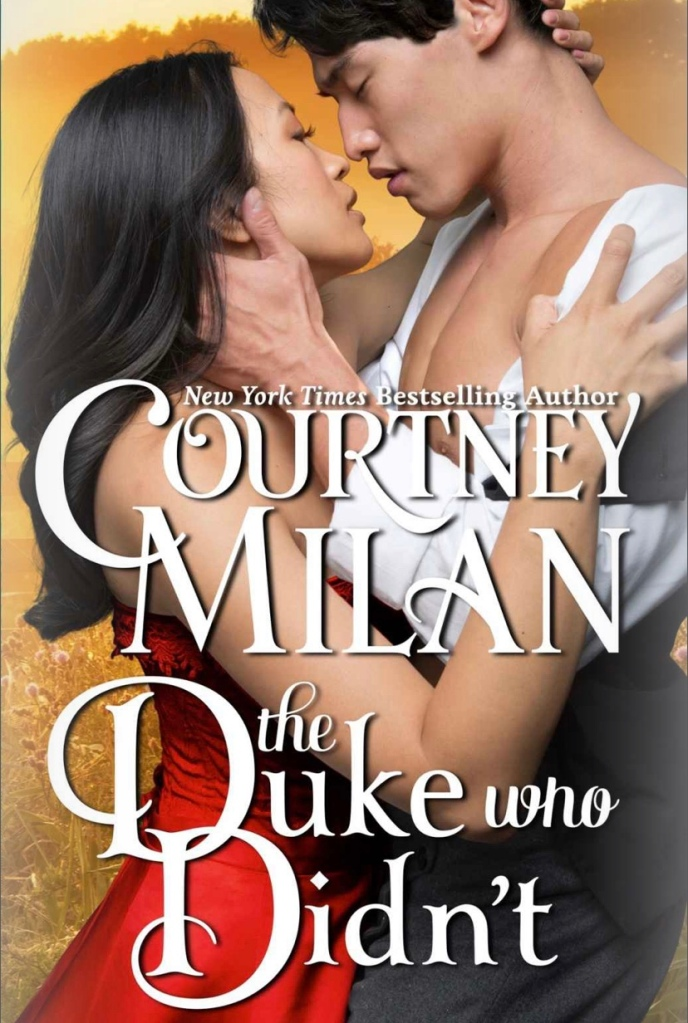 The cover of The Duke who Didn't