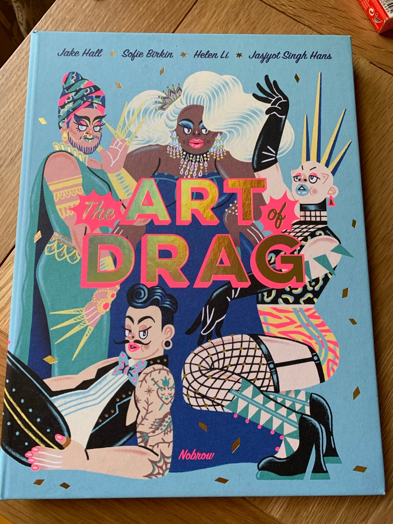 Hardback copy of The Art of Drag