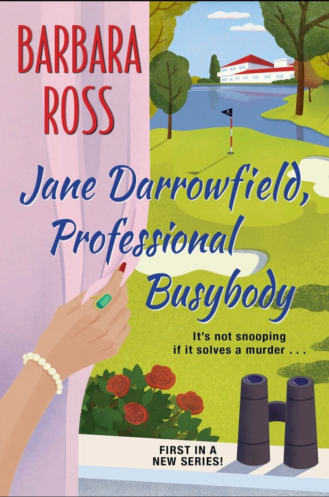 Cover of Jane Darrowfield, Professional Busybody