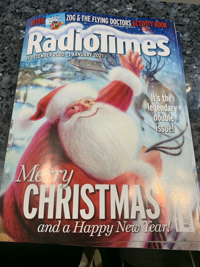 Copy of the Radio Times Christmas edition