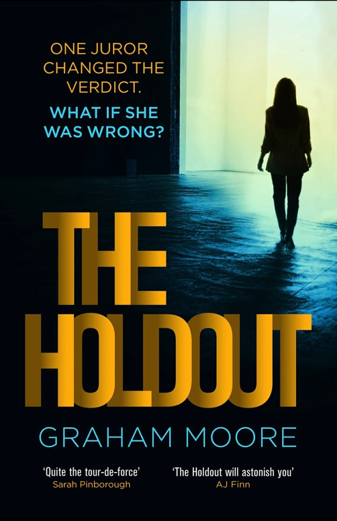UK cover of The Holdout