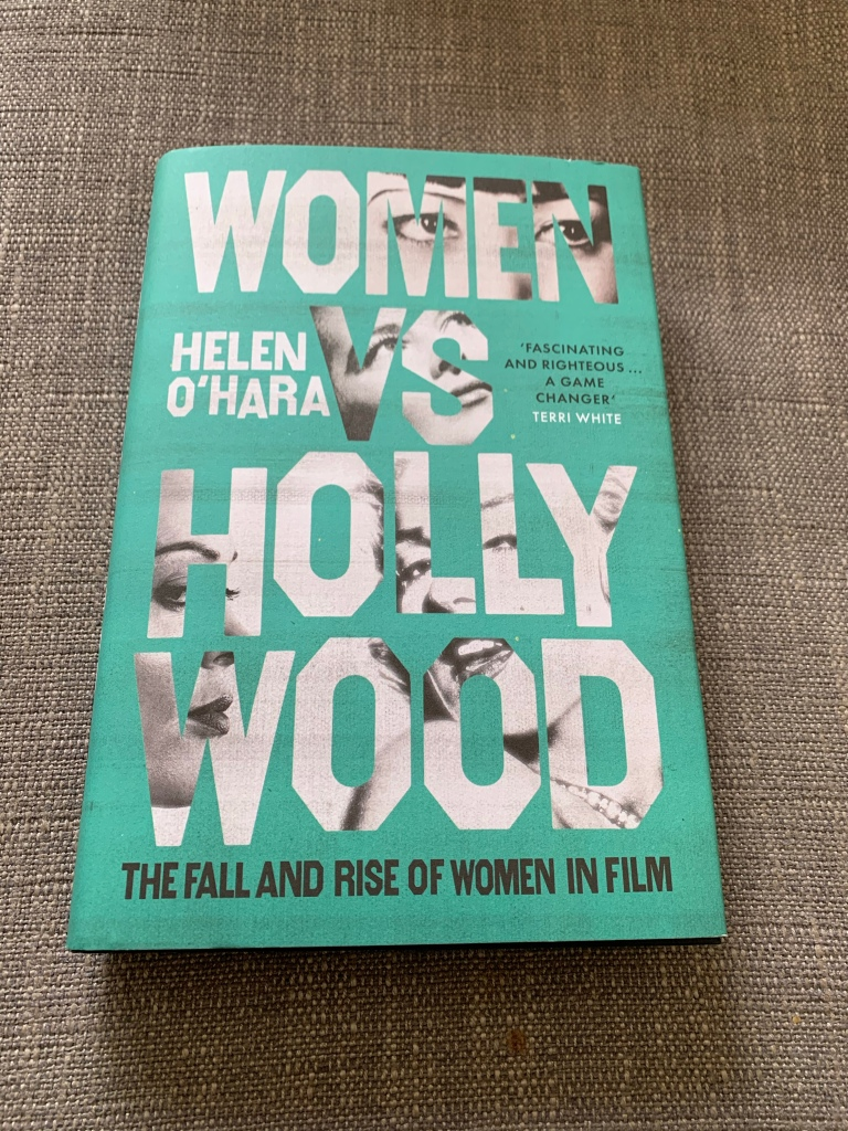 Hardback copy of Women vs Hollywood
