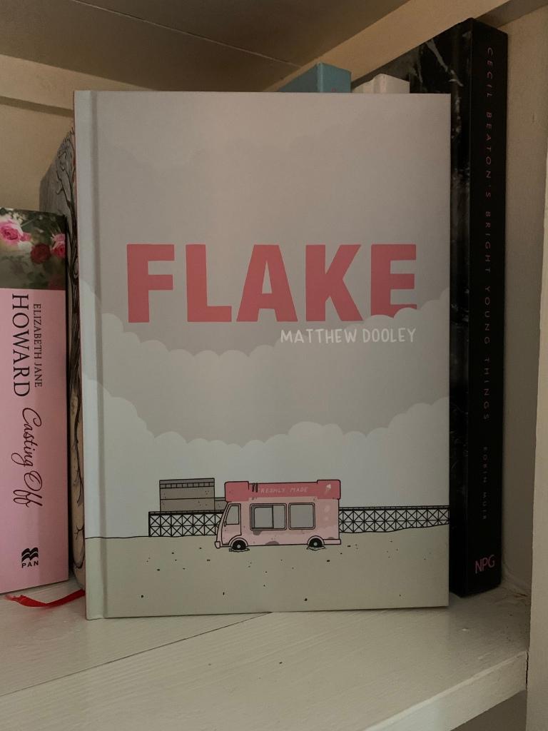 Hardback copy of Flake